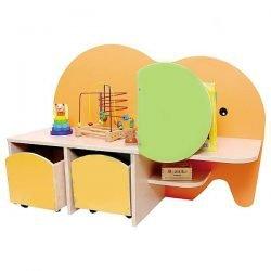 "Shelving unit with Drawers ""ELEPHANT"""