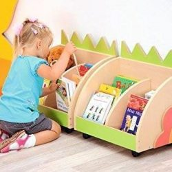 """Bookcase with wheels """"HEDGEHOG"""""""