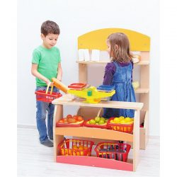 Role Play Wooden Market Stall