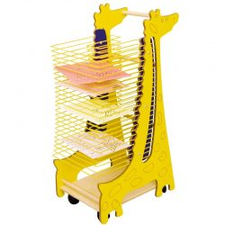 "Easy Access Mobile Artwork Drying rack ""GIRAFFE"""