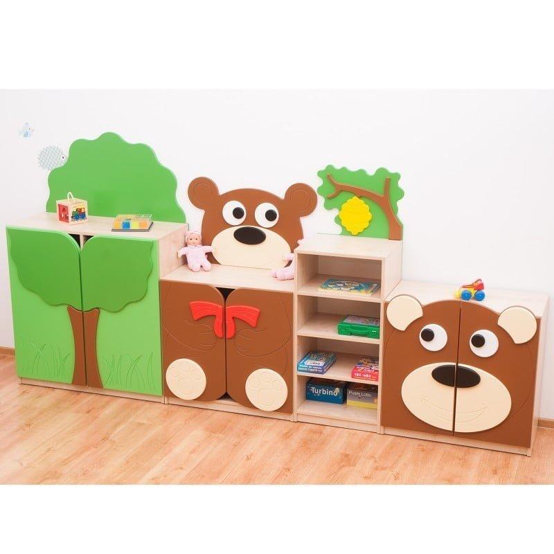 """Bookcase """"TEDDY BEAR FAMILY"""""""