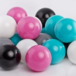 Plastic Balls x 500 – 4 Pastel Colour Mix