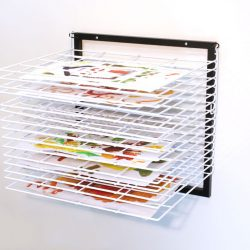 15 SHELF WALL MOUNTED DRYING RACK