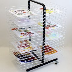 DRYING RACK MOBILE 40 LARGE SHELF
