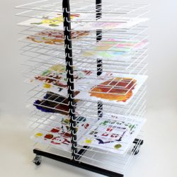 DRYING RACK MOBILE 40 SMALL SHELF