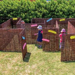 WICKER MAZE PANELS – SET 18