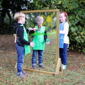 C Outdoor Painting mirror