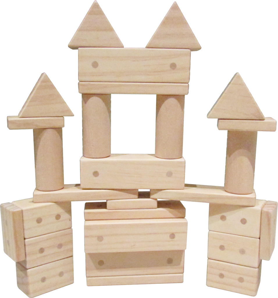 187 Els Magnetic Wooden Blocks
