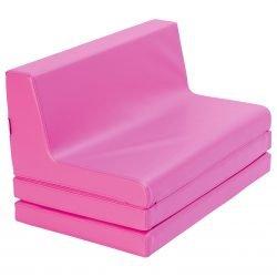 Pink Folding Sofa