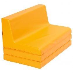 Orange Folding Sofa