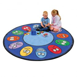 Expressions Oval Learning Rug