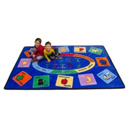 Rectangle Bilingual Rug