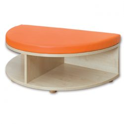 Reading Nook – Rounded End Storage and Seat Unit