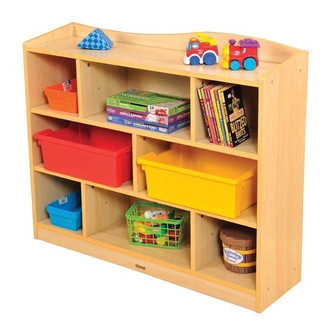 Vienna 8 Compartment Cabinet Preschool Supplies