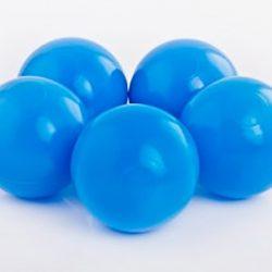 Plastic Balls x 500 Sky Blue