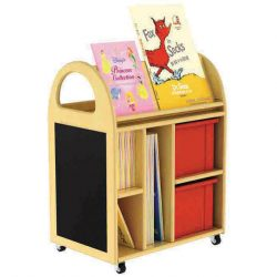 Multi Purpose Book Trolley