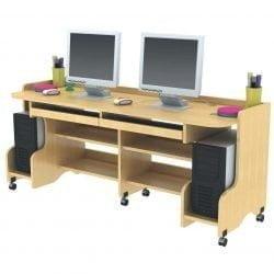 MS Double Computer Desk