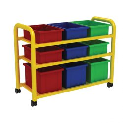Steel Storage Trolley and Trays