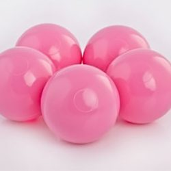 Plastic Balls x 500 Light Pink