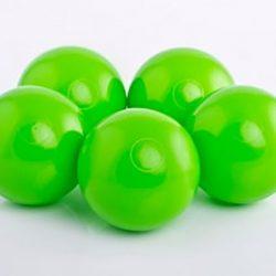 Plastic Balls x 500 Lime Green