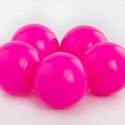 Plastic Balls x 500 Pink