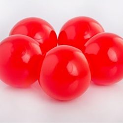 Plastic Balls x 500 Red
