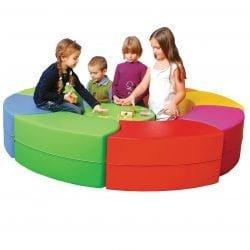 Snake Seat Set (Yellow, Orange, Red, Pink, Green, Blue)