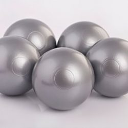 Plastic Balls x 500 Silver