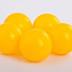Plastic Balls x 500 Yellow
