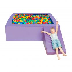 Square ball pit with balls 2.5m