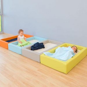 soft foam children bed
