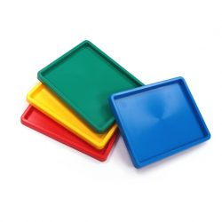 Inking Tray, Set of 4 (assorted colours)