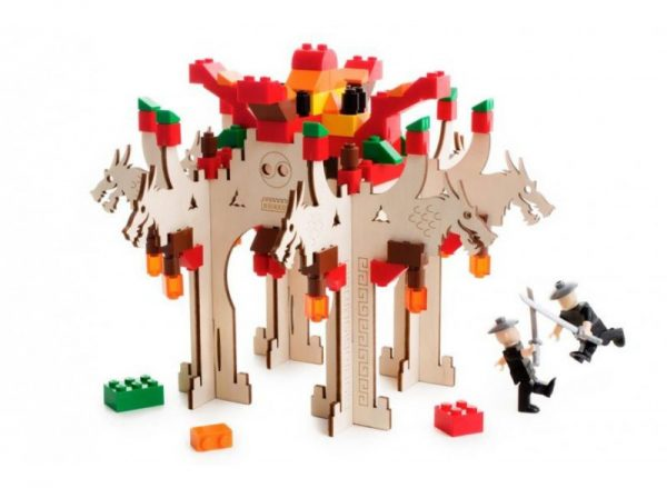 brikkon, ninja temple, lego