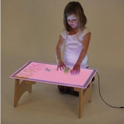 Colour Changing Light Panel & Table Set