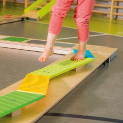 Sensory Balancing Beam – Coloured Benches