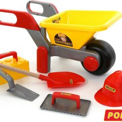 Wheelbarrow + 5 Piece Construction Set