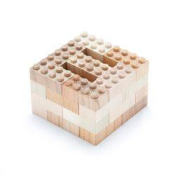Wooden building bricks 34psc