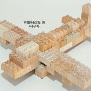 Mokulock, wooden lego, wooden building bricks
