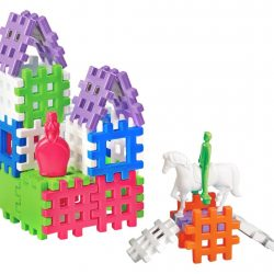 "Marioinex Waffle Blocks – 36 pieces ""Castle"""