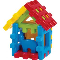 "Large Marioinex Waffle Blocks – 9 pieces ""House"""