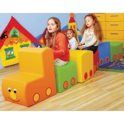 "Soft Play Set ""Train"""