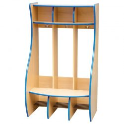 Cloakroom Coat Hanger with Dividers- 3