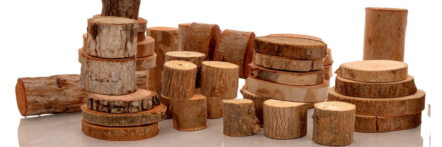 Huge range of natural wooden resources