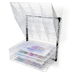 C  Shelf Wall Mounted Drying Rack