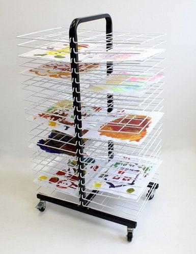 C Drying Rack Mobile  Small Shelf