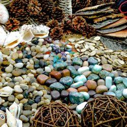 Natural Exploration Treasure Basket