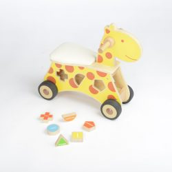 RIDE ON SHAPE SORTER GIRAFFE