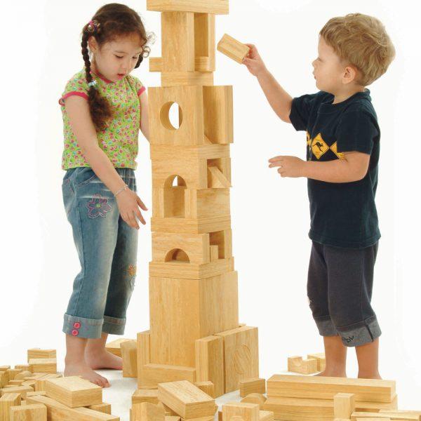 C  Softwood blocks s
