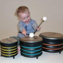 Drum Percussion Set of 3 – Trommus