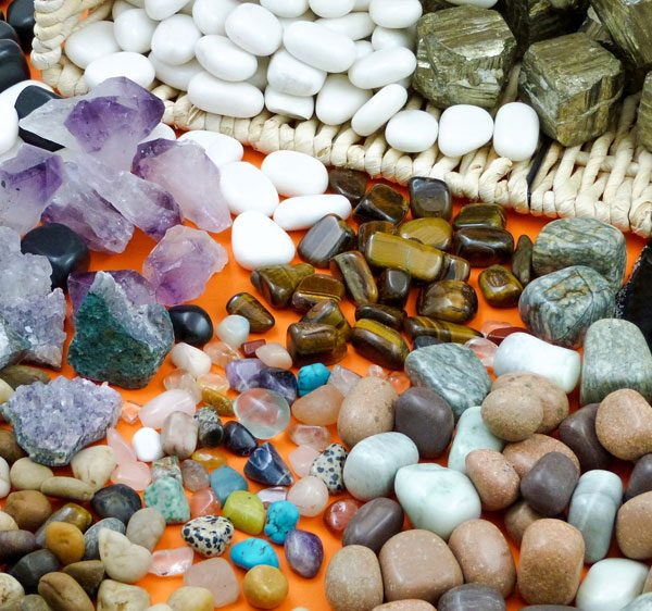 Stones Minerals Treasure Ba